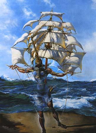 Salvador Dalí - O Barco